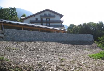 Muro albergo Cristo D'oro
