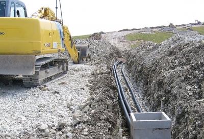 Nuovo acquedotto del Passo Brocon