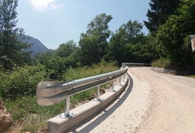 Sistemazione strada rive di Pradellano