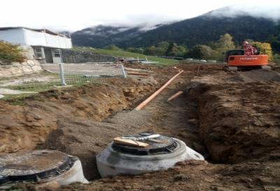 Realizzazione rete fognaria e acquedottistica
