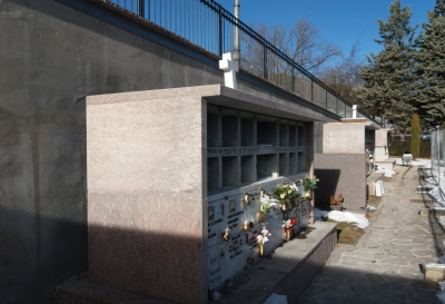 Riqualificazione cimitero Montagnaga